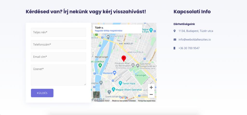 céges-webolda-kapcsolat