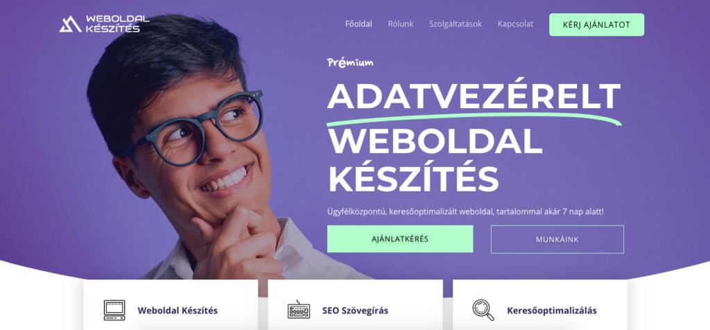 céges-weboldal-dizájn